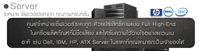 �ٹ���˹����Կ����� Dell, IBM, HP, ATX, Server �ҤҶ١